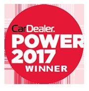 dealer power 2017 award